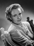 Frances Farmer sitting on a Chair Photo by  Movie Star News