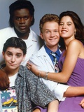 Doogie Howser Cast Portrait Photo by  Movie Star News