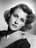 Frances Dee Looking Lonely in A Portrait in Black and White Photo by  Movie Star News