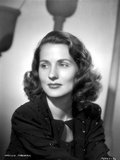 Brenda Marshall on a Dark Top Portrait Photo by  Movie Star News