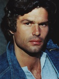 Harry Hamlin Portrait in Denim Jacket Photo by  Movie Star News