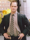 Christopher Meloni Posed in Coat Portrait Photo by  Movie Star News