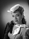 Gloria DeHaven posed in A Portrait White Photo by  Movie Star News