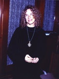 Carole King posed in Black Dress Photo by  Movie Star News