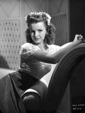Dale Evans on a Dress and Leaning on a Chair Portrait Photo by  Movie Star News