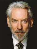 Donald Sutherland posed Close-up Portrait Photo by  Movie Star News