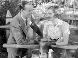 Damsel In Distress with Gracie Allen and Jerry Halliday in Black and White Photo by  Movie Star News