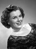 Barbara Hale on Embroidered Top Portrait Photo by  Movie Star News