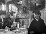 Helen Morgan Story Couple Having Conversation Photo by  Movie Star News