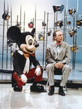 Don Knotts with Mickey Mouse Photo by  Movie Star News