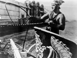 Francis Bushman Riding a Chariot Photo by  Movie Star News