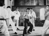 Bruce Lee wearing Black Pants in Action Photo by  Movie Star News