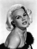 Carroll Baker wearing a Furry Tube Dress Photo by  Movie Star News