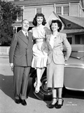 Dorothy Malone posed with a Man and a Woman smiling Photo by  Movie Star News