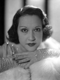 Ethel Merman Portrait in Shimmering Dress Photo by  Movie Star News