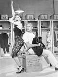 Damn Yankees Scene in a Dressing Room Photo by  Movie Star News