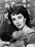 Elizabeth Taylor Portrait in Off Shoulder Blouse Photo by  Movie Star News