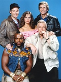 A-Team Posed with Cast Photo by  Movie Star News