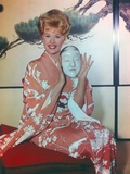 Connie Stevens Posed in Kimono Portrait Photo by  Movie Star News