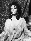 Elizabeth Taylor Posed in Robe Photo by  Movie Star News