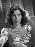 Frances Dee in Glossy Dress Photo by  Movie Star News