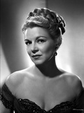 Claire Trevor Posed in Black Dress Portrait Photo by  Movie Star News
