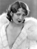 Billie Dove wearing Fur Coat Portrait Photo by  Movie Star News