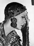Greta Garbo on a Sequin Top to the side Portrait Photo by  Movie Star News