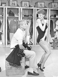 Damn Yankees Cast Gwen Verdon Dancing in Lingerie Photo by  Movie Star News