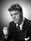 Burt Lancaster in a Suit and Tie with White Polo Inside Photo by  Movie Star News