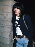 Chrissie Hynde Posed in Black Suit Photo by  Movie Star News