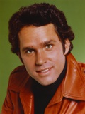 Gregory Harrison wearing Brown Leather Jacket Portrait Photo by  Movie Star News