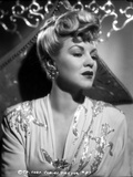 Claire Trevor Looking Away in Floral Dress Portrait Photo by  Movie Star News