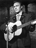 Christopher Plummer Playing Guitar in Black Background Photo af Movie Star News
