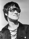 Bruce Lee wearing a Sun Glasses Photo by  Movie Star News