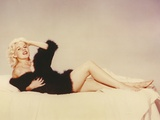 Carroll Baker in Black Photo by  Movie Star News