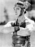 Francis Bushman as BenHur Photo by  Movie Star News
