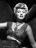 Claire Trevor Posed in Corset with Necklace Photo by  Movie Star News