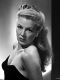 Claire Trevor Posed Sideways in Black Strapless Dress Photo by  Movie Star News