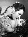 Bebe Daniels Kissing a Man while Holding His Head in Tube Dress Photo by  Movie Star News