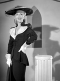 Carole Landis on a Long Sleeve Top standing and posed Photo by  Movie Star News