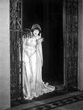 Colleen moore on a Gown and Sneaking Portrait Photo by  Movie Star News