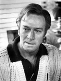 Christopher Plummer in White Sweater With Collar Foto af  Movie Star News
