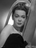 Barbara Rush in Black Dress posed Photo by  Movie Star News