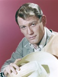 Earl Holliman Portrait in Red Background Photo by  Movie Star News