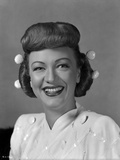 Eve Arden on Elegant Blouse smiling Portrait Photo by  Movie Star News