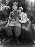 Harry Langdon Couple Scene in Movie Photo by  Movie Star News