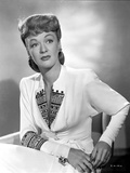 Eve Arden on Long Sleeve Top sitting Portrait Photo by  Movie Star News