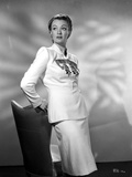 Eve Arden on Long Sleeve Top Leaning on Chair Portrait Photo by  Movie Star News