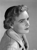 Frances Farmer on a Coat Portrait Photo by  Movie Star News